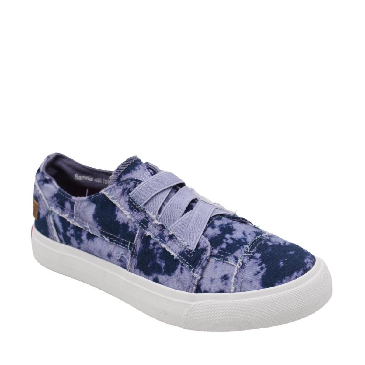 Blowfish Malibu Blowfish Youth Sneaker Purple Sky Tie Dye
