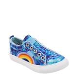 Blowfish Malibu Blowfish Youth Sneaker Turquoise Denim Tie Dye