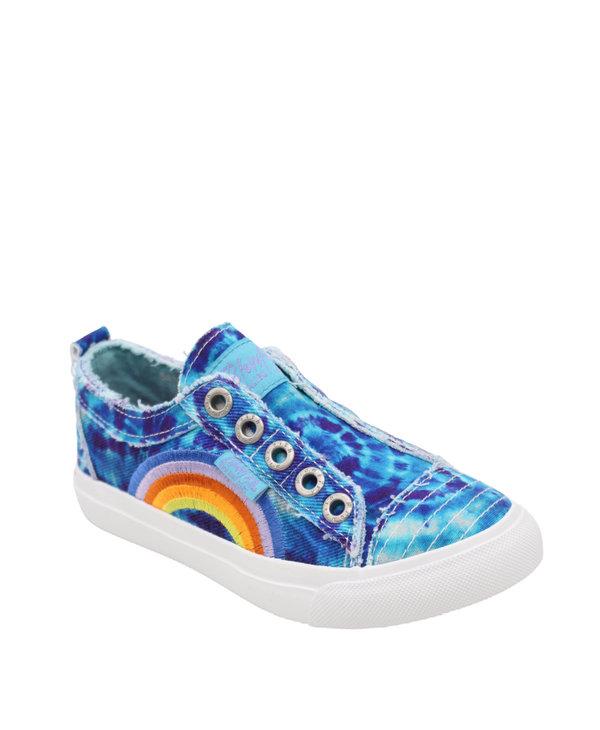 Blowfish Youth Sneaker Turquoise Denim Tie Dye