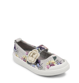 Blowfish Kids Ballet Flat Grey Bella Print