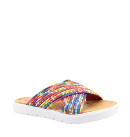 Blowfish Youth Slide Rainbow Tie Dye