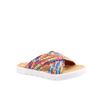 Blowfish Youth Slide Rainbow Tie Dye