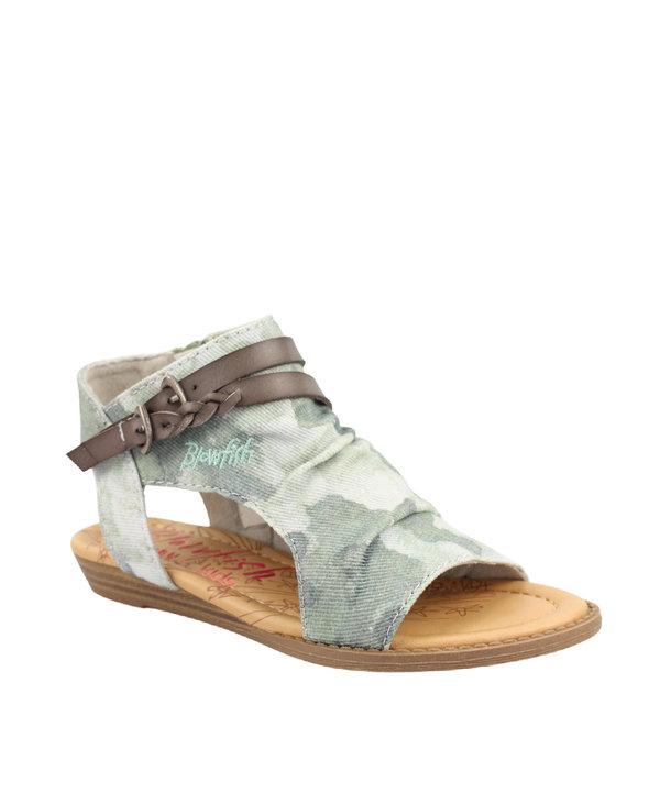 Blowfish Youth Sandal Splat Camo