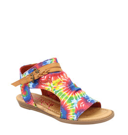 Blowfish Youth Sandal Rainbow Tie Dye
