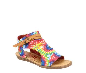 Blowfish Youth Sandal Rainbow Tie Dye