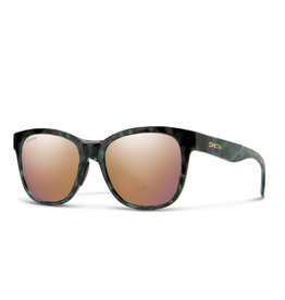 Smith Caper Camo Tortoise Rose Gold Lens ChromoPop Polarized