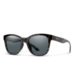Smith Caper Black Tortoise Grey Lens
