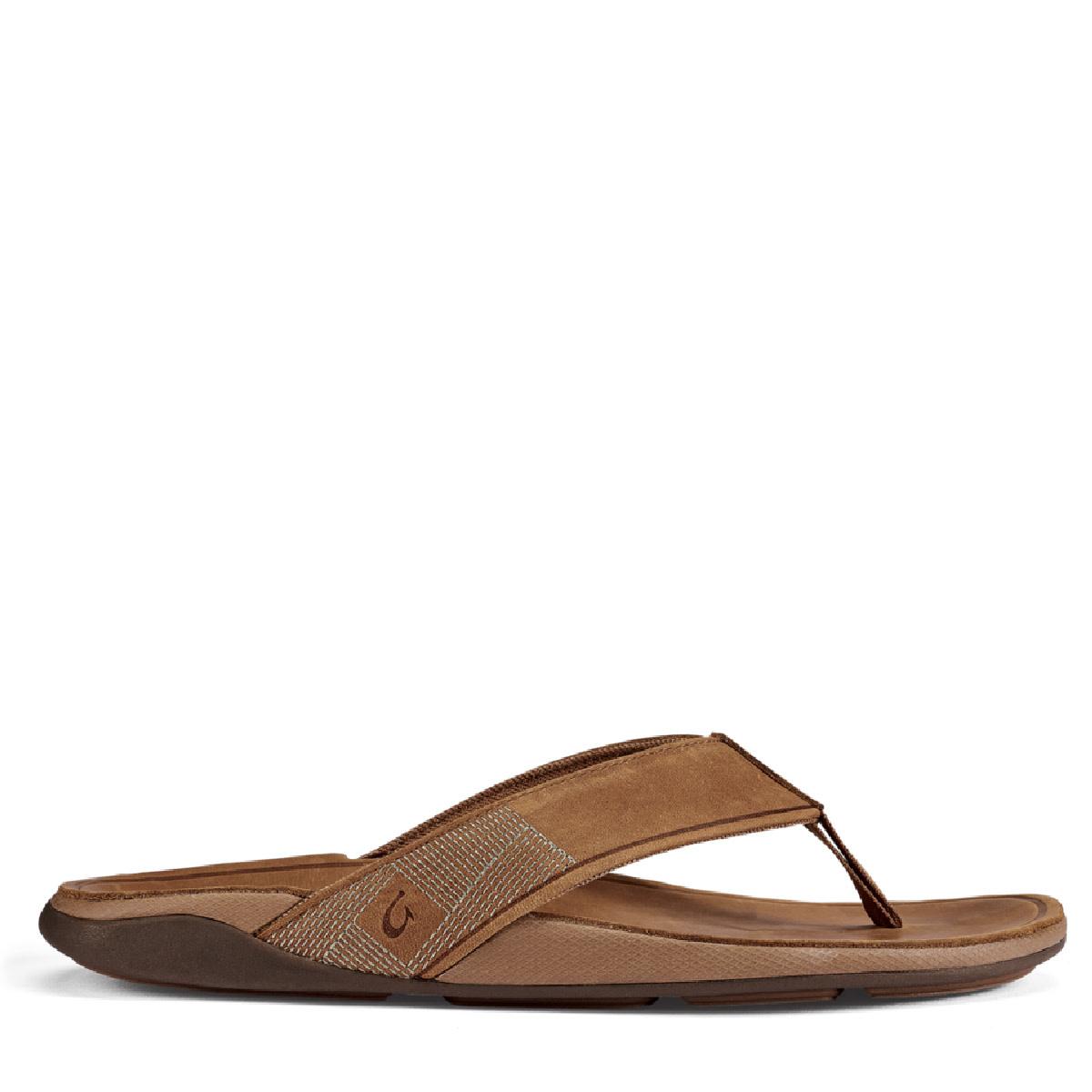 OluKai OluKai Tuahine Leather Flip Toffee