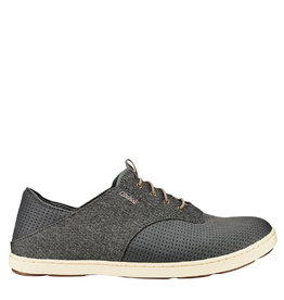 OluKai Nohea Moku Boat Shoe Charcoal / Clay