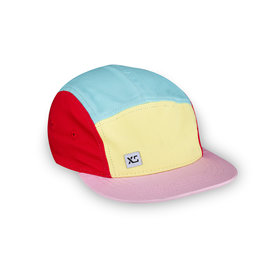 XS Unified Kid's 5 Panel Hat Pastel Colourblock
