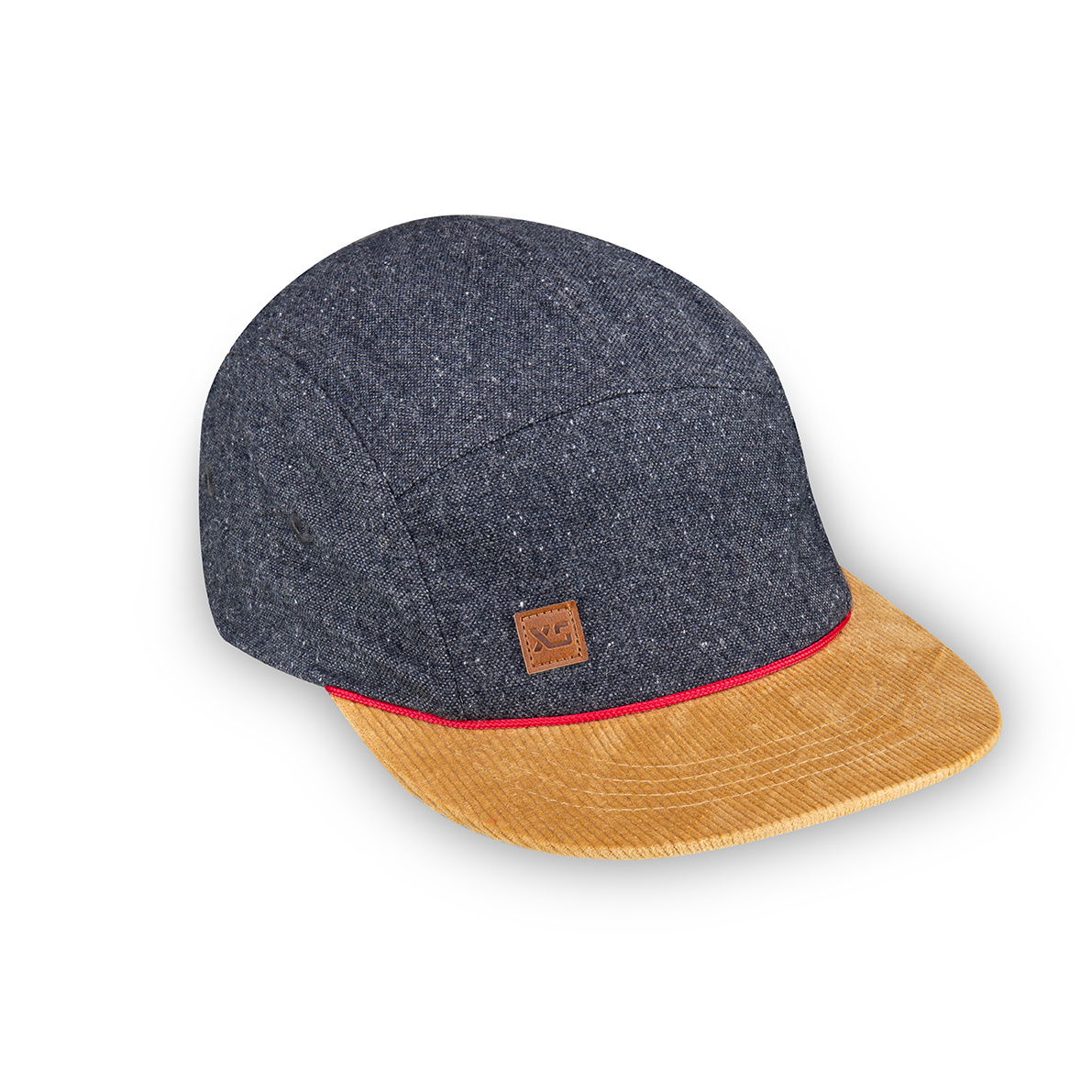 XS Unified XS Unified Kid's 5 Panel Hat Grey Wool