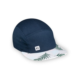 XS Unified Kid's 5 Panel Hat Navy Tropical