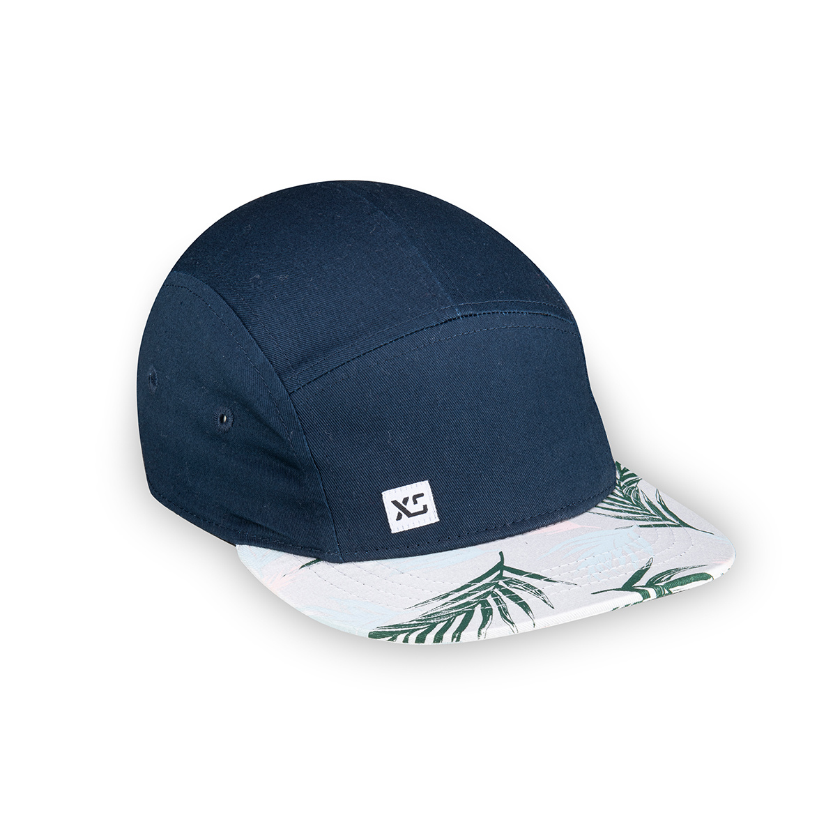 XS Unified XS Unified Kid's 5 Panel Hat Navy Tropical