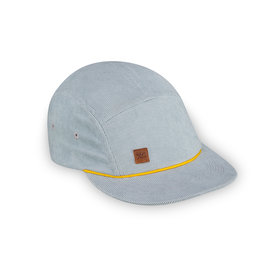 XS Unified Kid's 5 Panel Hat Blue Corduroy