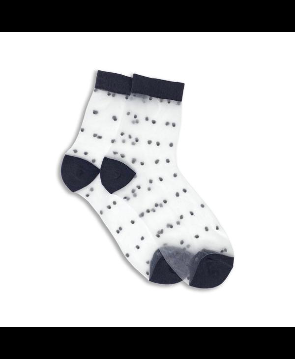 XS Unified Women's Sheer Dots O/S