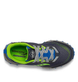 Saucony Saucony Youth Peregrine Trail Runner Blue / Green