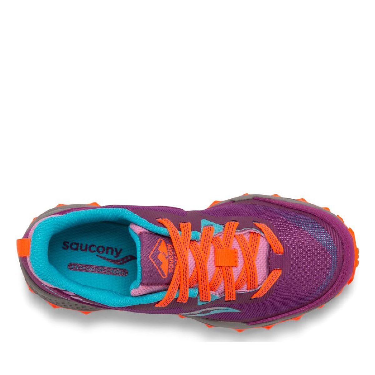 Saucony Saucony Youth Peregrine Trail Runner Magenta