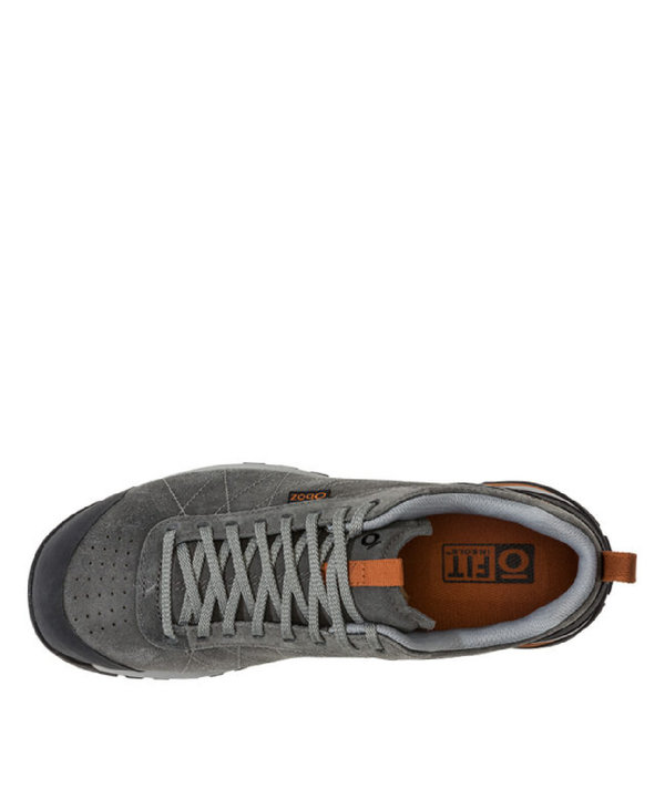 Oboz Bozeman Low Leather Charcoal
