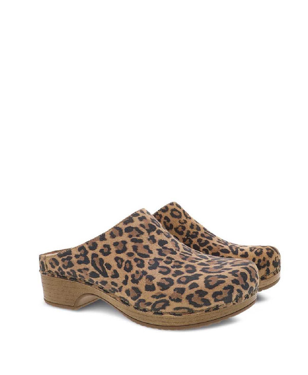 Dansko Brenda Leopard Suede