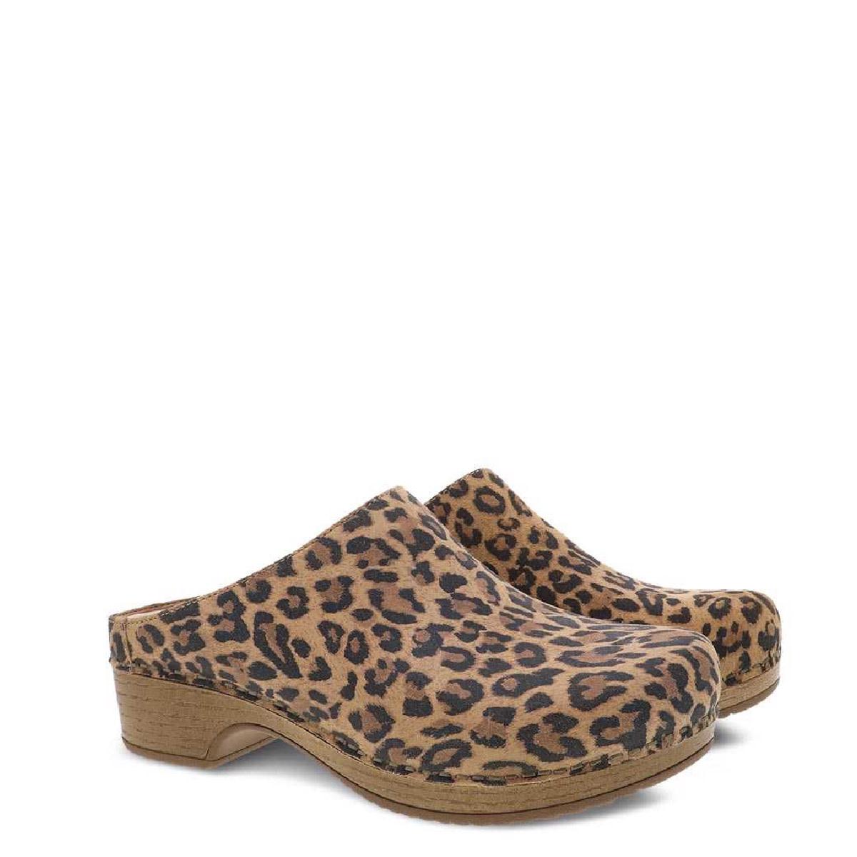 Dansko Dansko Brenda Leopard Suede