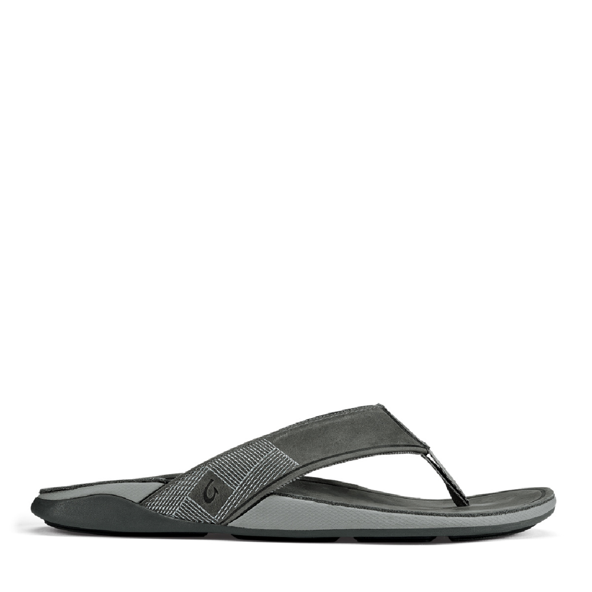 OluKai OluKai Tuahine Leather Flip Stone