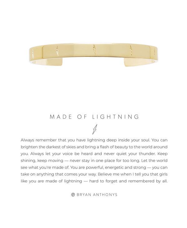 Bryan Anthonys Made of Lightning
