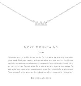 Bryan Anthonys Move Mountains Necklace