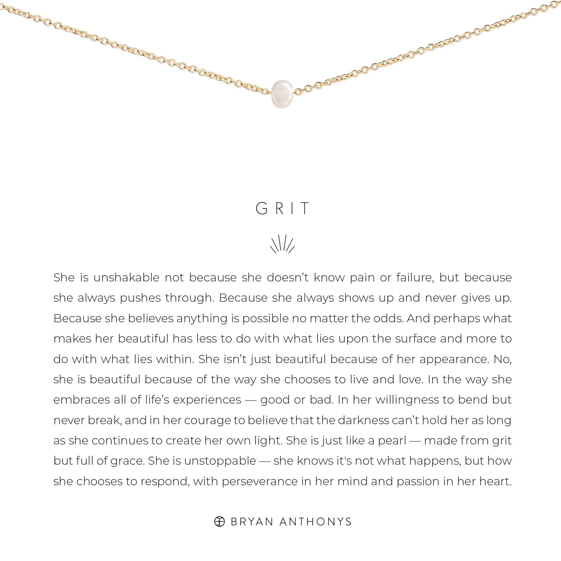 Bryan Anthonys Bryan Anthonys Grit Necklace