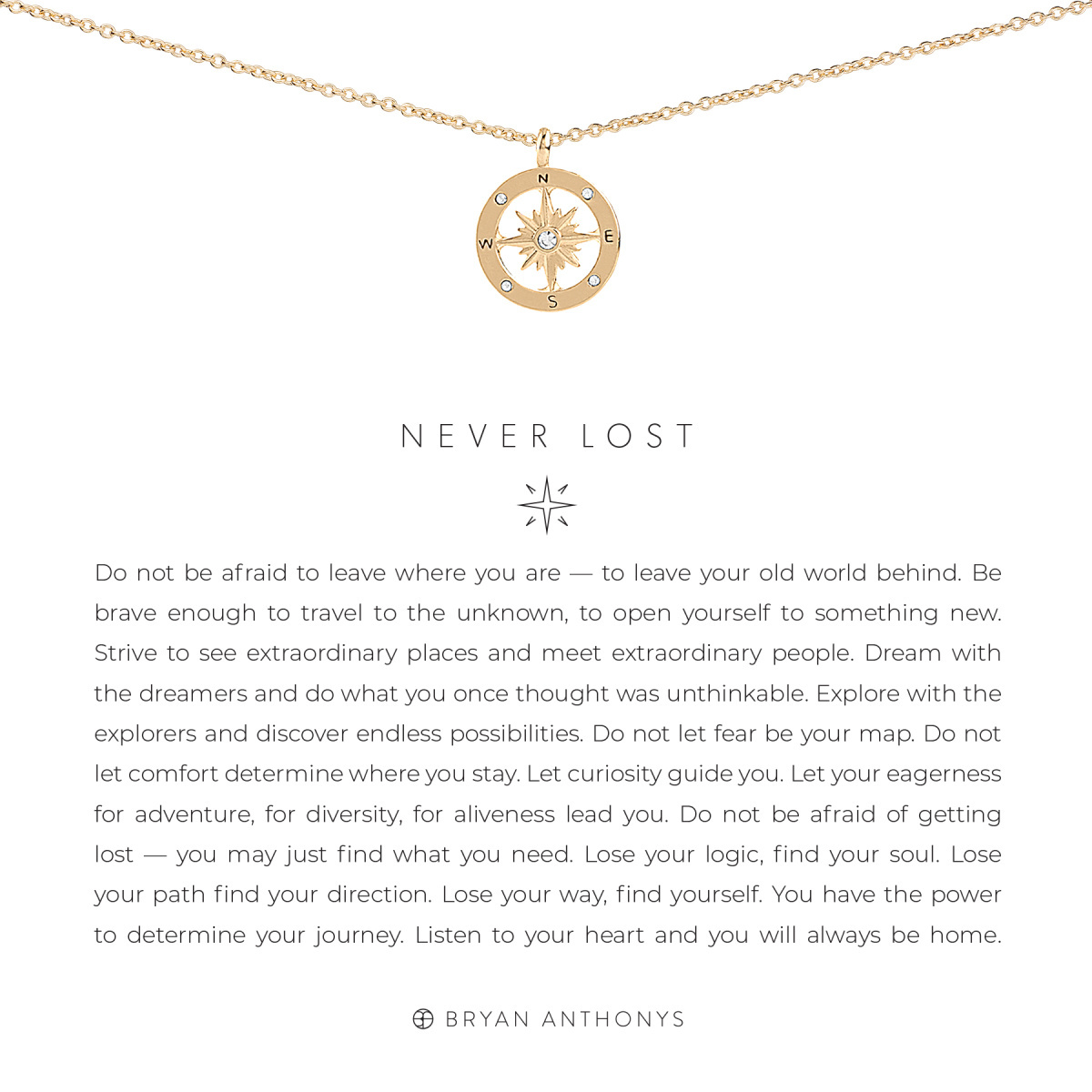 Bryan Anthonys Bryan Anthonys Never Lost Necklace