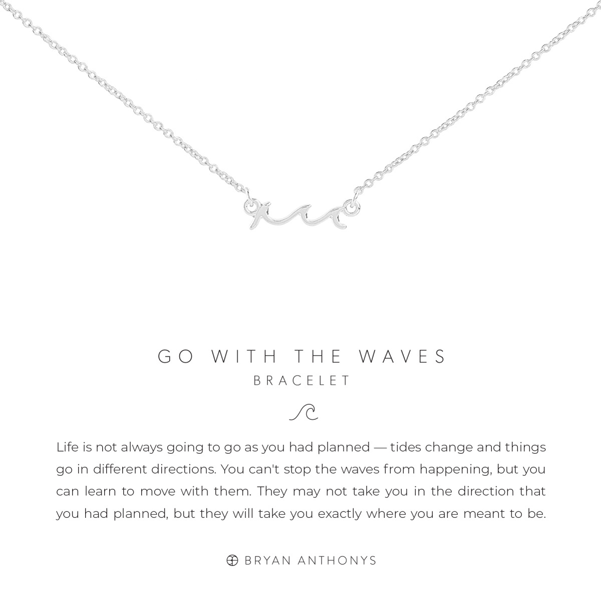 Bryan Anthonys Bryan Anthonys Go With The Waves Necklace