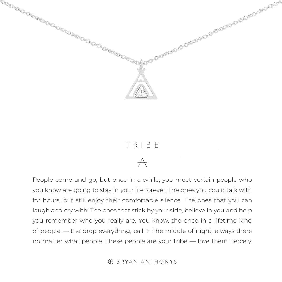 Bryan Anthonys Bryan Anthonys Tribe Friendship Necklace