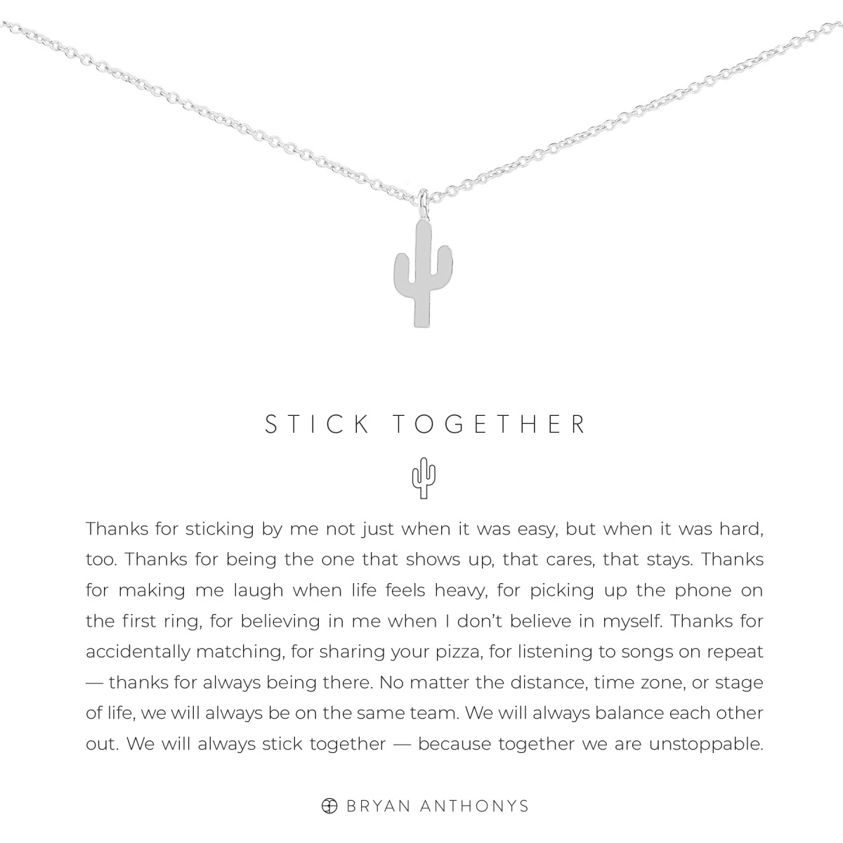 Bryan Anthonys Bryan Anthonys Stick Together Necklace