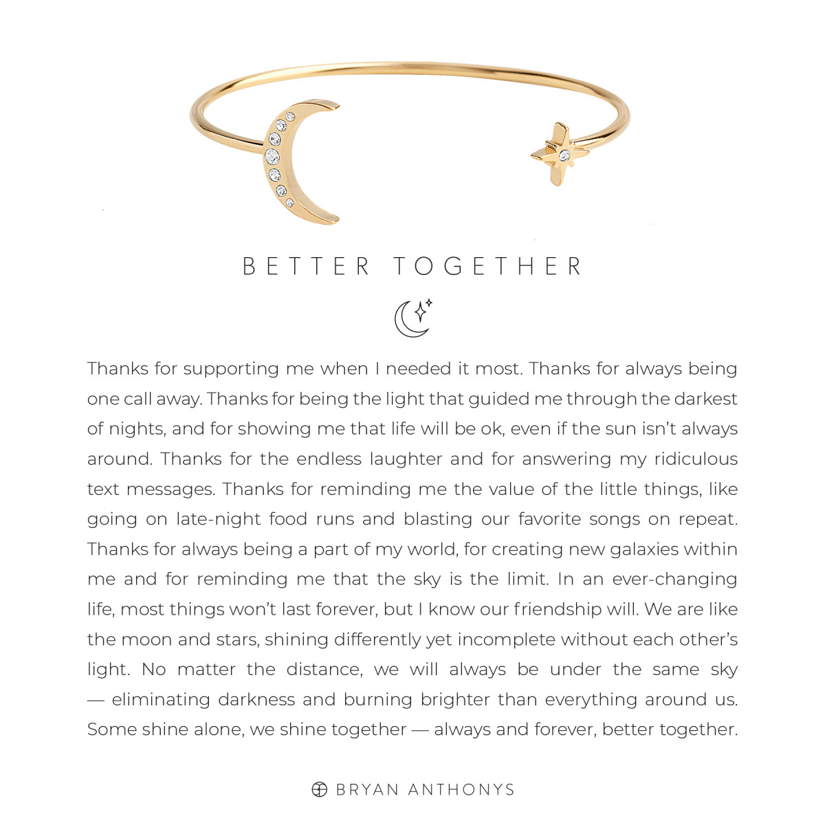 Bryan Anthonys Bryan Anthonys Better Together Cuff