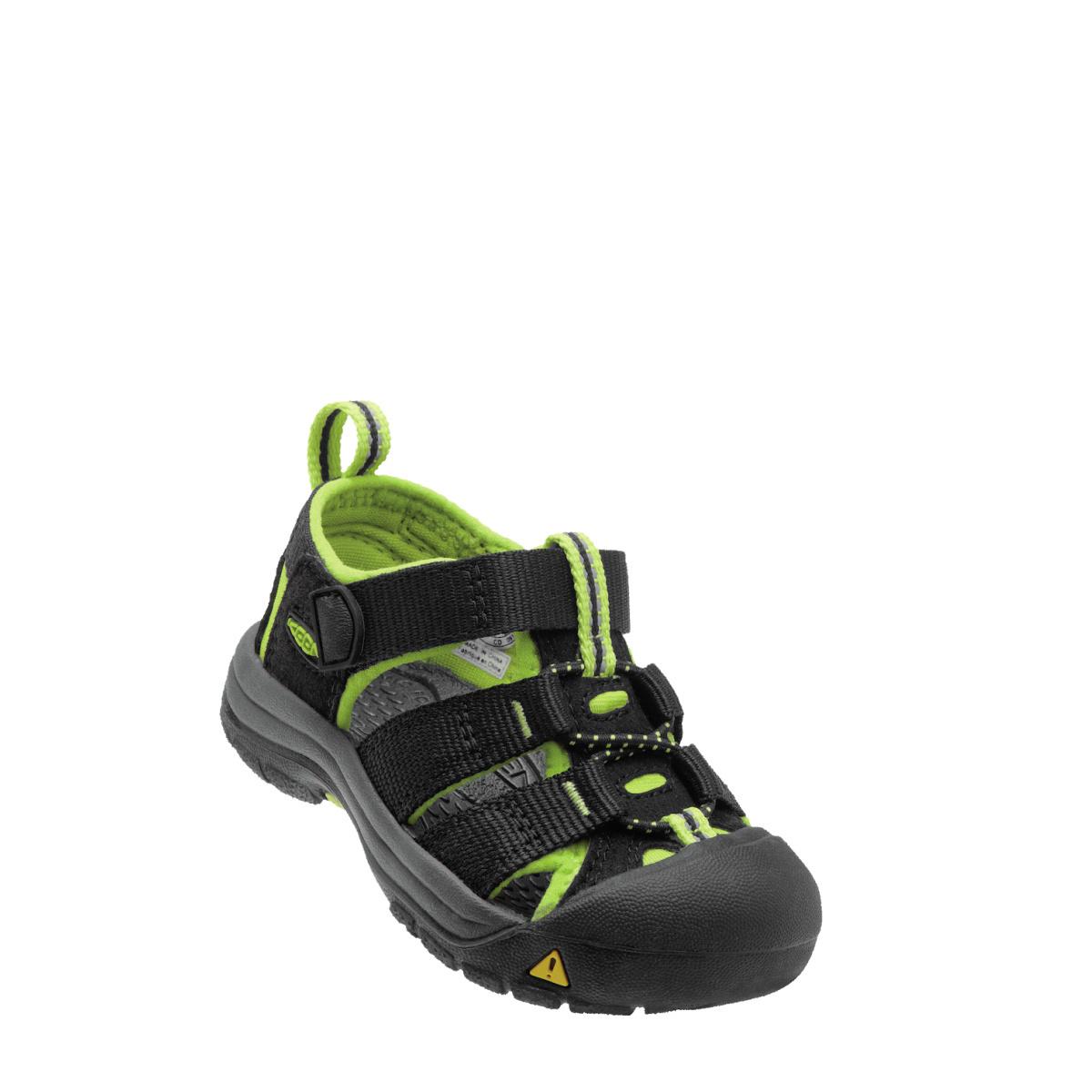 Keen Footwear Keen Newport Kids/Youth H2 Black/Lime