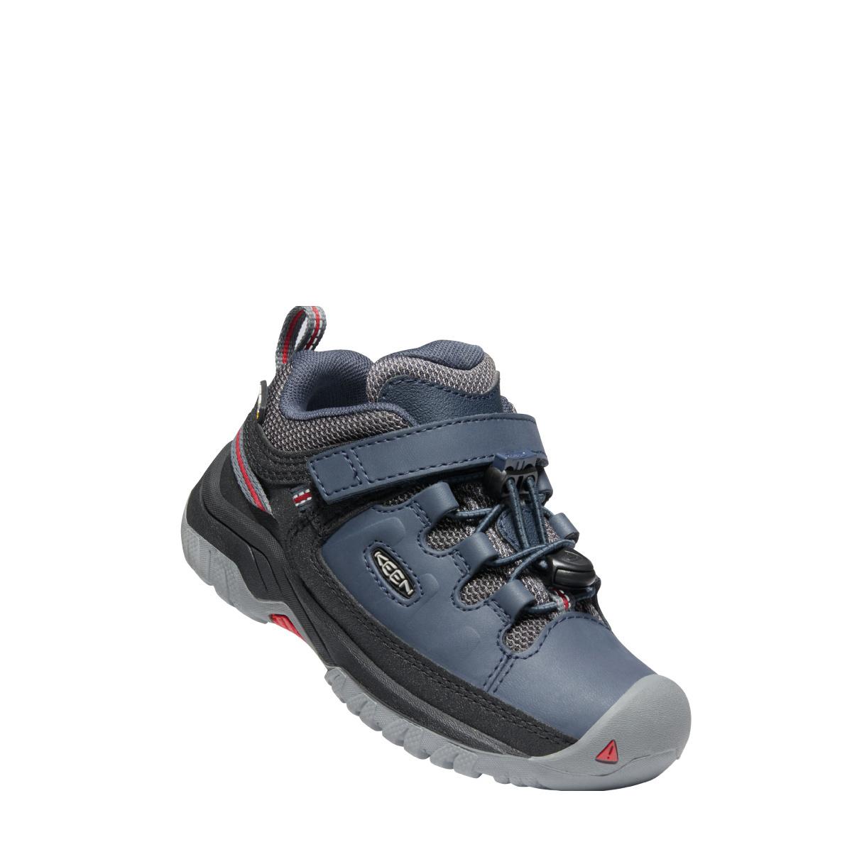 Keen Footwear Keen Kids/Youth Targhee Low Blue Nights/Red Carpet
