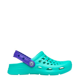 Joybees Kids Active Clog Teal Violet