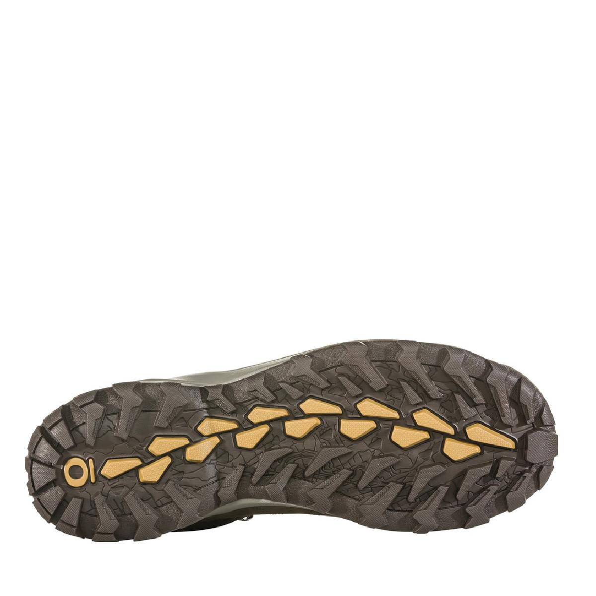 Oboz Sypes Leather B-Dry Wood