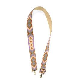 "Joy Susan 2"" Embroidered Guitar Handbag Strap"