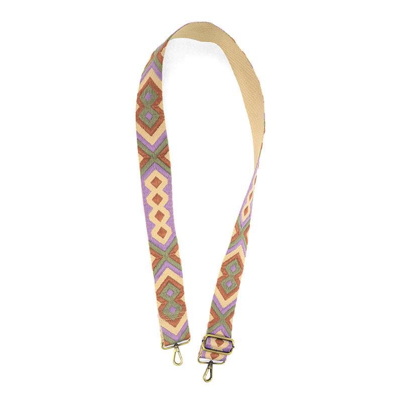 "Joy Susan Joy Susan 2"" Embroidered Guitar Handbag Strap"