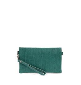 Joy Susan Kate Crossbody Handbag Turquoise Woven