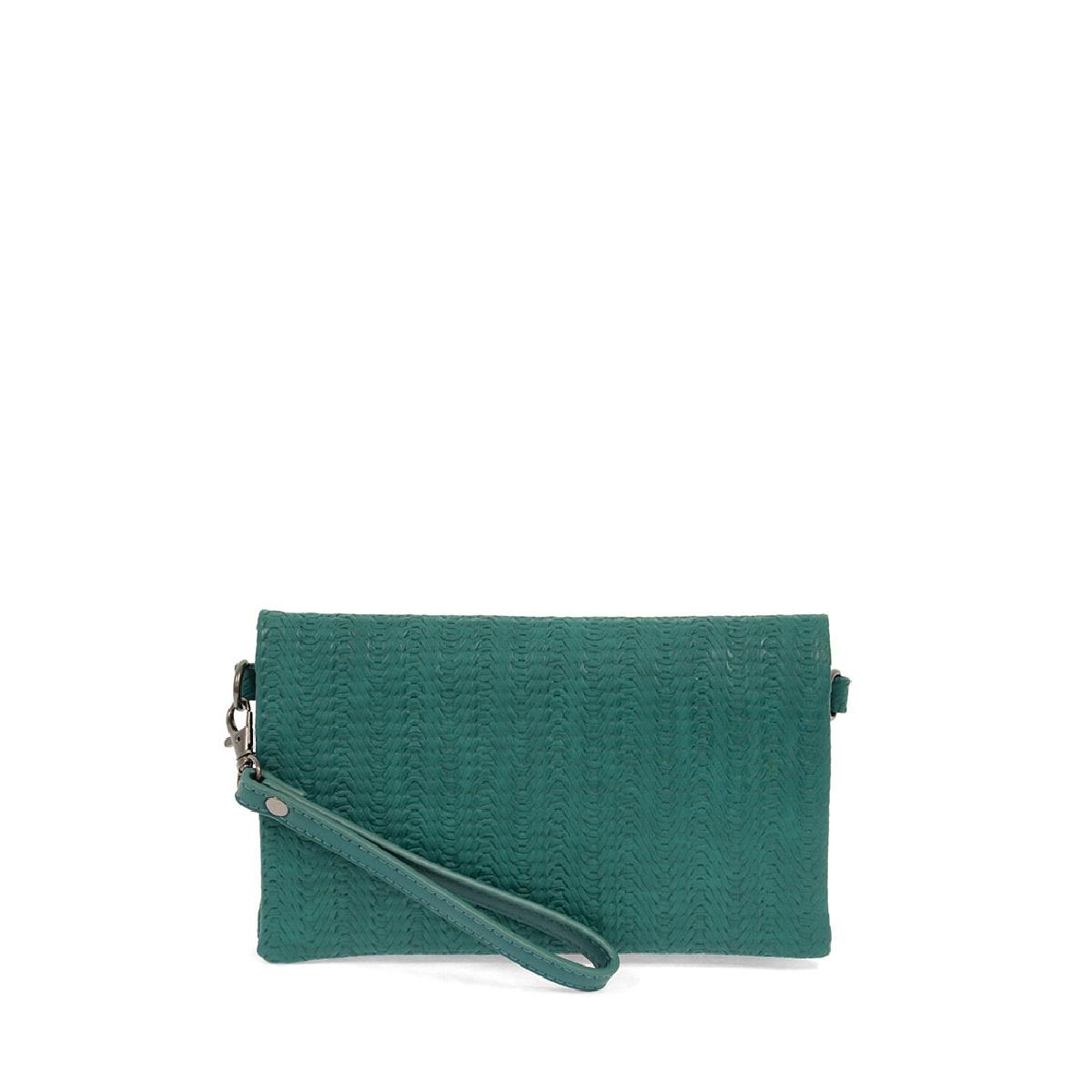 Joy Susan Joy Susan Kate Crossbody Handbag Turquoise Woven