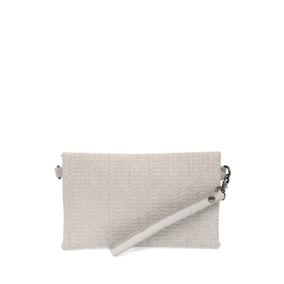 Joy Susan Joy Susan Kate Crossbody Handbag Soft Grey Woven