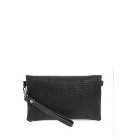 Joy Susan Kate Crossbody Handbag Black Woven