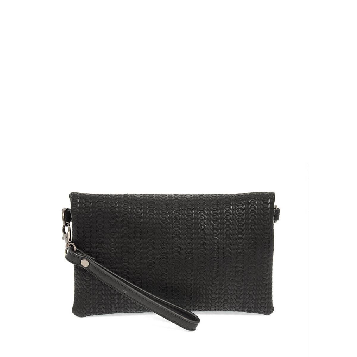 Joy Susan Joy Susan Kate Crossbody Handbag Black Woven