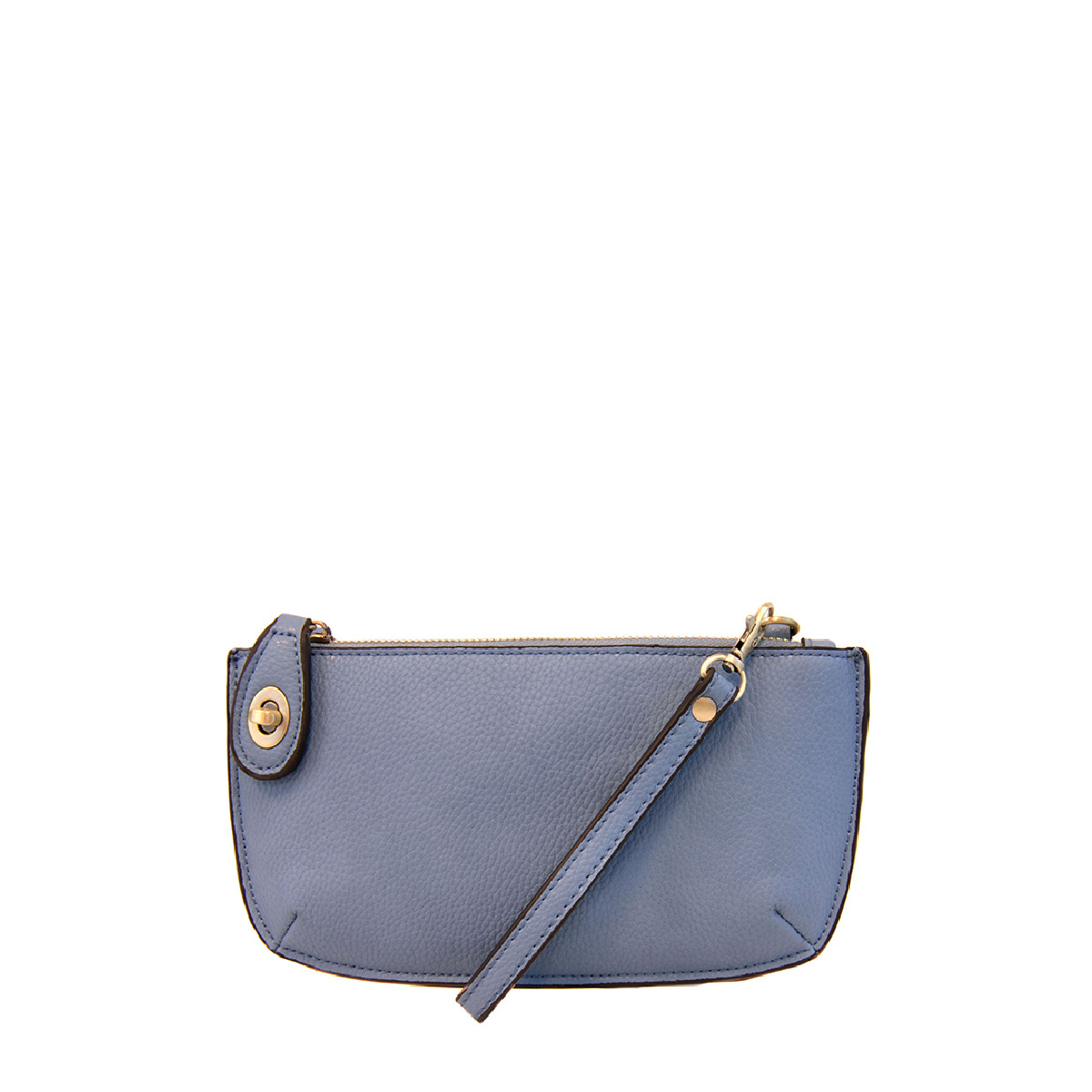 Joy Susan Joy Susan Mini Crossbody Wristlet Clutch Chambray