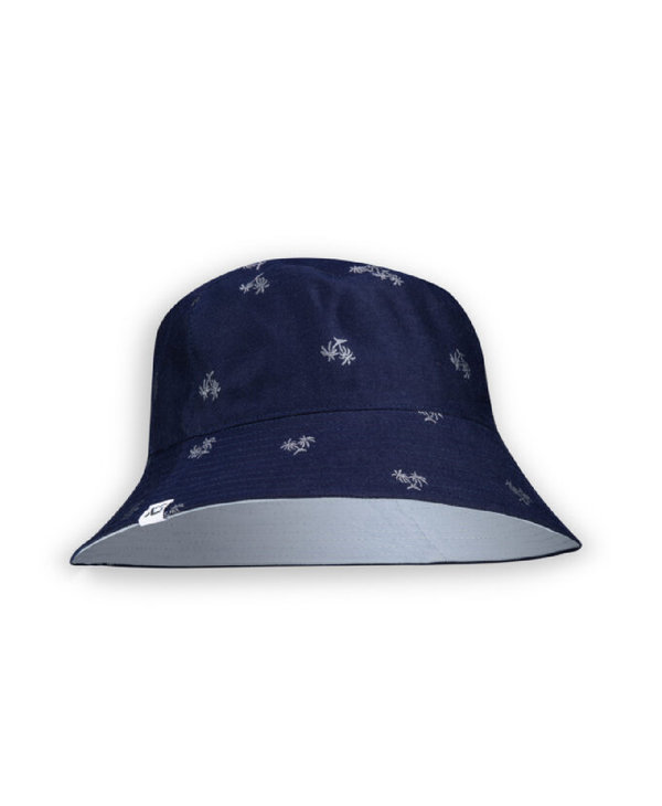 XS Unified Reversible Bucket Hat Navy Palm