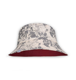 XS Unified Kids Bucket Hat Vintage Floral