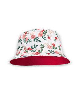 XS Unified Kids Bucket Hat Pink Posy
