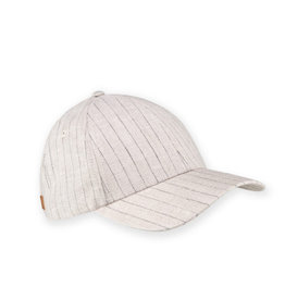 XS Unified Unisex Classic Cap Flax Pinstripe