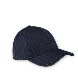 XS Unified Unisex Classic Cap Navy Pinstripe